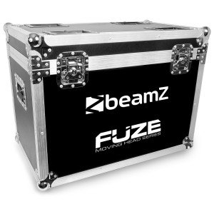 BeamZ FCFZ2 Flightcase voor 2 stuks FUZE series moving heads