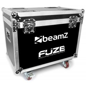BeamZ FCFZ4 Flightcase voor 4 stuks FUZE series moving heads