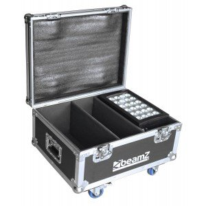 BeamZ FL2 Flightcase voor 2x Star-Color 240 of 360