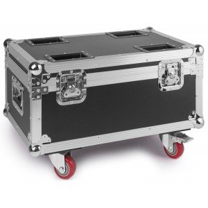 BeamZ flightcase for 4 stuks LED Twister 400 LED FAN effect
