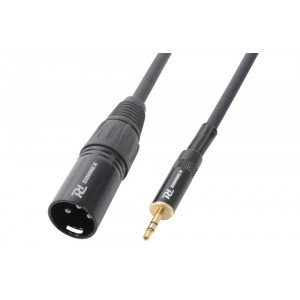 PD Connex 3.5mm mini jack Stereo - XLR Male kabel 0.5 meter