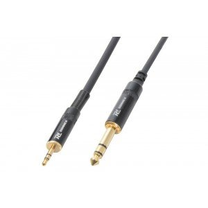 PD Connex Kabel 3.5 Stereo - 6.3 Stereo 3m