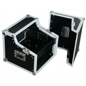 "Power Dynamics PD-F4U 19"" DJ Flightcase 6HE + 2HE"