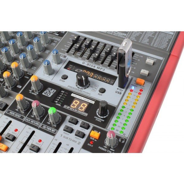 Power dynamics pdm s1203 stage mixer 12 kanaals dspmp3 usb inuit 3