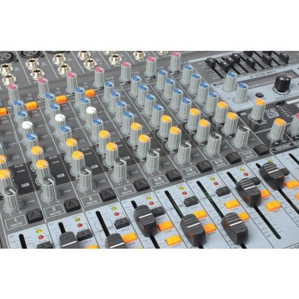 Power dynamics pdm s1203 stage mixer 12 kanaals dspmp3 usb inuit 5