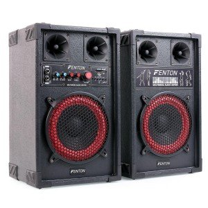 "Fenton SPB-8 Actieve speakerset 8"" 400W met Bluetooth"