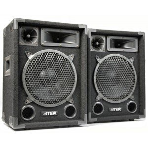 MAX Disco Speakerset MAX10 500W 10""