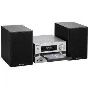 Kenwood M-720DAB Stereo set Zilver