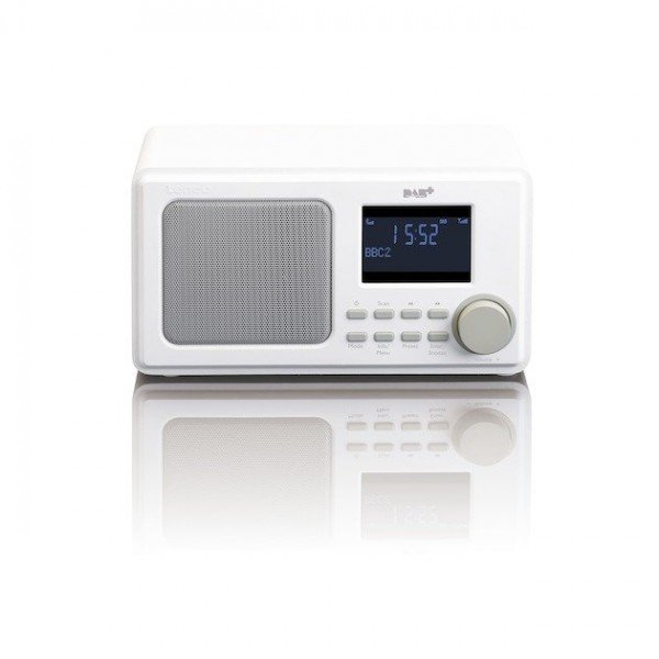 Lenco DAR-010 DAB radio Wit