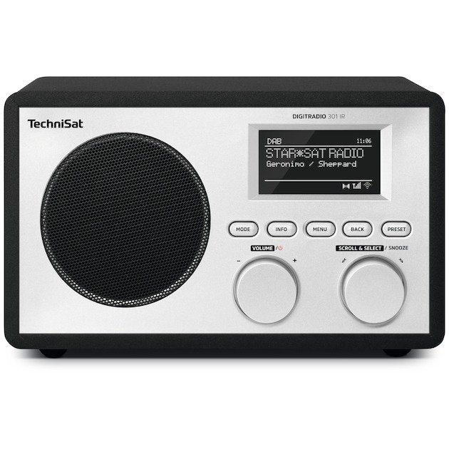 TechniSat DigitRadio 301 IR DAB radio