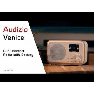Audizio Venice wifi internet radio