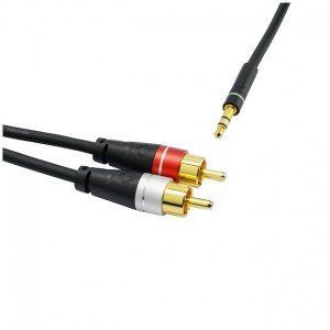 Oehlbach SL AUDIO CABLE 3.5 - 2xRCA 2