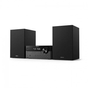 Philips TAM4505/12 Stereo set Zwart