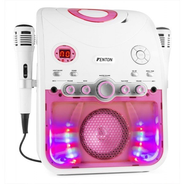 Fenton SBS20W karaoke set met Bluetooth