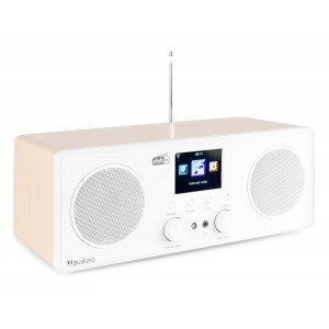 Audizio Bari DAB radio met Bluetooth en wifi internet radio - Wit