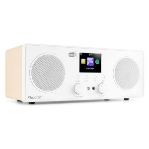 2e keus - Audizio Bari DAB radio met Bluetooth en wifi internet radio