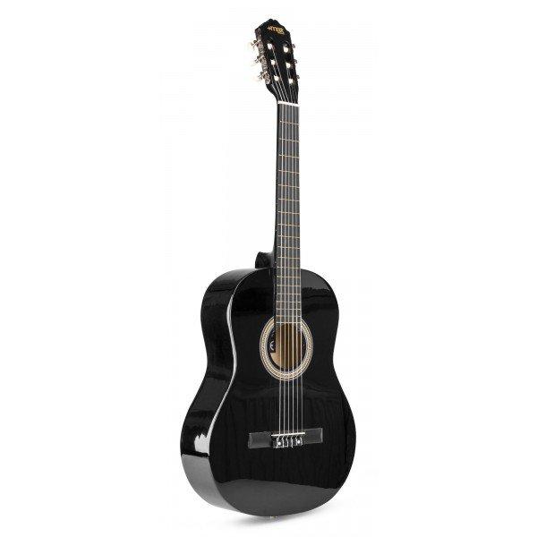 Max soloart klassieke akoestische gitaar 39 starterset zwart 4