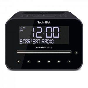 TechniSat Digitradio 52cd DAB radio Antraciet